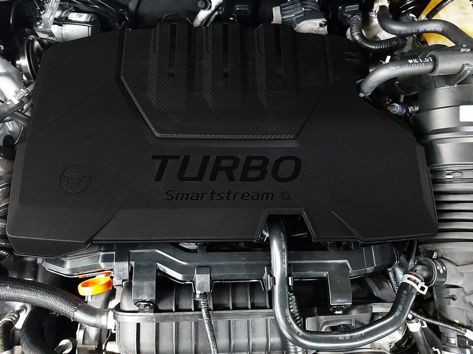 Image of the all-new Hyundai i20's fuel efficient engine.